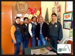 Visita del prof. Ernesto Salazar