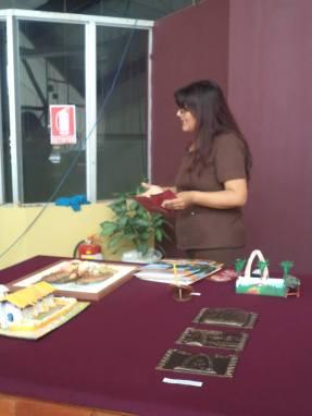Lic. Miriam Yupanki Cancino; Especialista de la Oficina de Artesanias DIRCETUR - Tacna